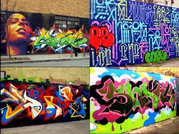 Bronx Graffiti Art
