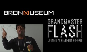 GrandMaster Flash at the Bronx Museum of the Arts